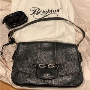 Brighton leather purse with coin purse & dust bag